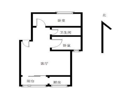 莲坂新景旁边欧式装修2房。业主自住。