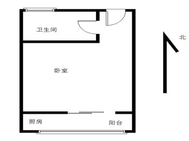 精装1房 户型方正 采光好 拎包入住 高楼层