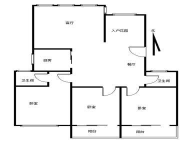 建发圣地亚哥,精装大三房,南北通透双阳台,免税惜售!