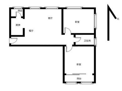 新店,精装两房,卧室带阳台,品质小区,家门口学校