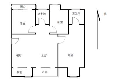 中骏蓝湾尚都精装三房,业主自住装修,送品牌家具家电