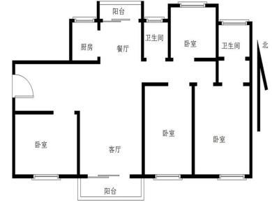 角美中骏四季阳光二期+4房2厅2卫+看湿地中庭