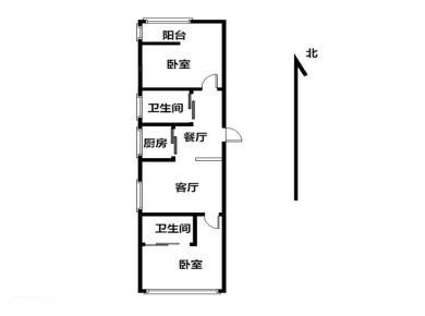 杏东路 正规两房 配套成熟 交通便利 边套 中间楼层