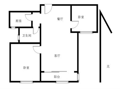 住宅莲花尚城,精装两房,临近泰禾商圈,位置优越,看房方便