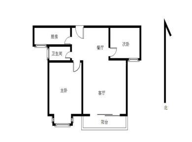 美地雅登一里  精装两房 独门独户 采光好 家具全送