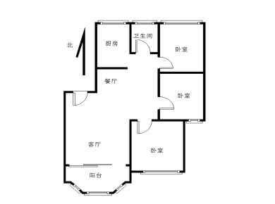 育秀里正规三房,中等装修,格局方正。