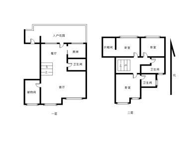 松柏二小空中别墅13年小区  名贵绿植 健身会所使用255平