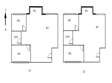 莲坂商圈 楼中楼可改成2套3房 新景数码港 使用220平