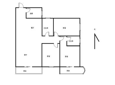 忆星大厦三房小区户型最好单价最低