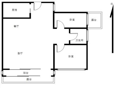 滨海社区,维多利亚自住精装两房,业主换房诚意出售