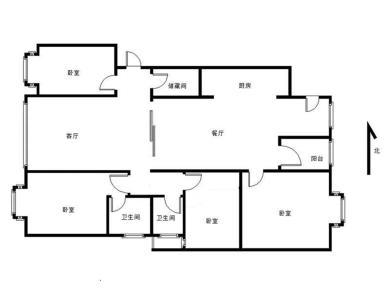 国际邮轮城一期 4室2厅
