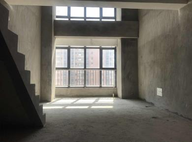 海沧周边角美万益广场复式楼中楼,可改三房,朝南户型方正采光好