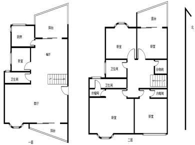 建发(绿家园)顶层楼中楼 送露台 南北通透 高品质社区