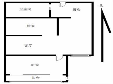 华天花园高层朝南两房低总价出售
