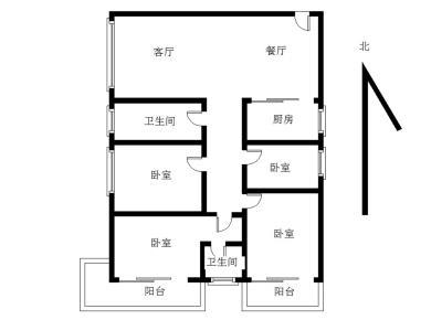 莲花 嘉益大厦 电梯中高层 正规大四房  精装修 拎包入住