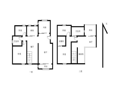 首开领翔花郡 精装6房 南北通透 满二 带阁楼 位置安静