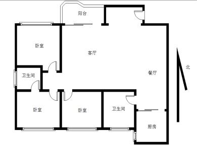 莲花凯悦丽池电梯高层3房