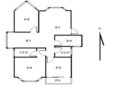 莲花学区房 建群花园 正规住家3房  仅售482万