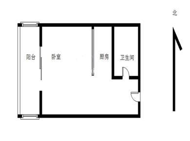莲坂,富山花园二期 精装一室一厅 电梯 封闭小区 滕王阁物业