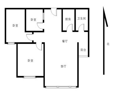 双十,地铁口,精装小3房,刚需必看。