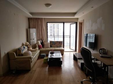 万科金域华府二期 2室1厅85平地铁口 精装修看中庭