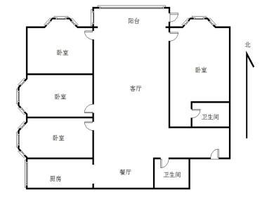 低首付 台湾街 华永天地后  嘉裕花园精装四房 拎包入住