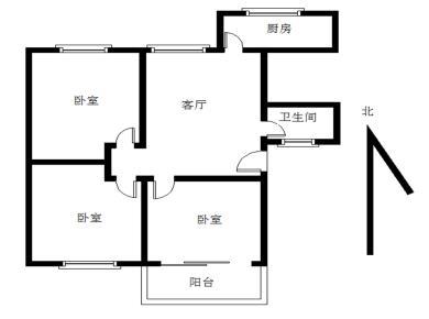 前埔南区 文兴东二里  中层 一梯两户 三房 满五年 税费低