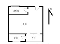 长隆花园1居电梯满五
