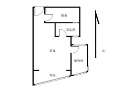 大学康城一期 精装一房 可以改成两房 装修似酒店