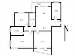 圣地亚哥高层三房三面采光明厨明卫业主惜售低于行情 价