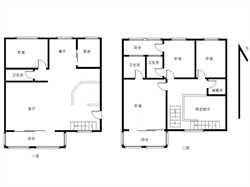 福满家园 4房2厅3卫3阳台 高层楼中楼 南北通透 满2年