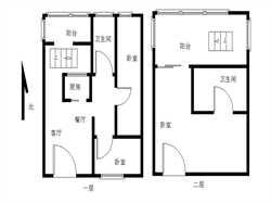 银城佳园复式 朝南三房 天台可用 送一层 空间大 急售