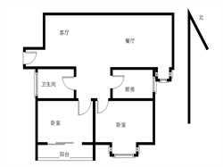 锦绣祥安正规两房 楼栋小区中庭位置 产权满二