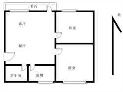 sm商圈 龙潭花园 中间楼层 精装两房 总价低