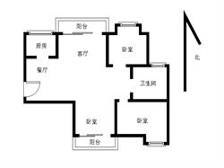 海翼0592+毛坯大3房+户型方正+南北通透+临近翔安一中