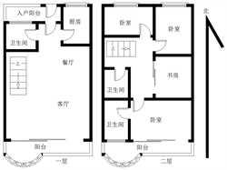 太微山庄 楼中楼 电梯精装四房 好房子 看中庭 稳定出售