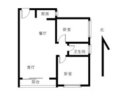 翔安豪宅专案,宝嘉誉园,高层精装两房,朝南带阳台,满二有钥匙