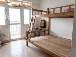 未来橙堡一期1居大阳台独立卫浴近地铁有飘窗有厨房