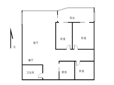 逮辽公园旁,电梯三房,精装修,使用面积90平,户型方正,满二