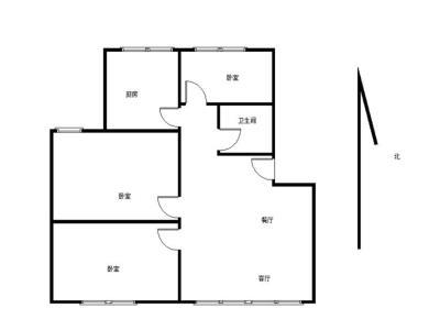 前埔北区小学 精装小三房 中庭不靠马路 国贸新城旁 BRT