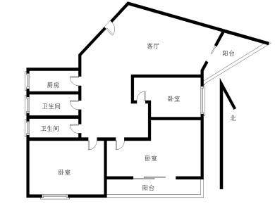 前埔北区二里三居室精装修 拎包入住 电梯高层 BRT旁